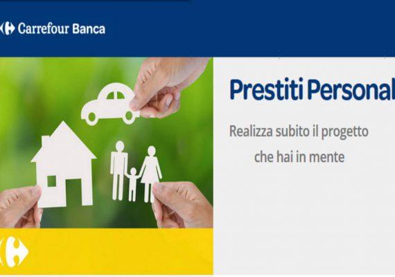 carrefour banca prestito