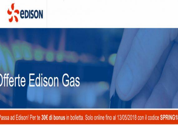 edison gas sconto
