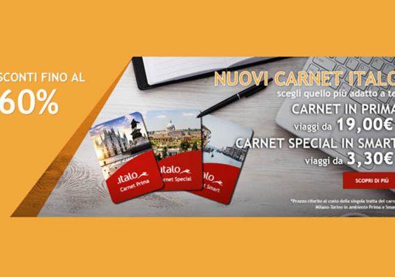 italo carnet promozione