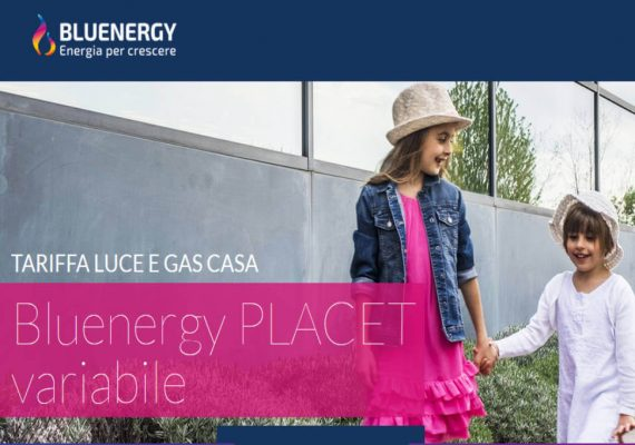 blueenergy luce placet