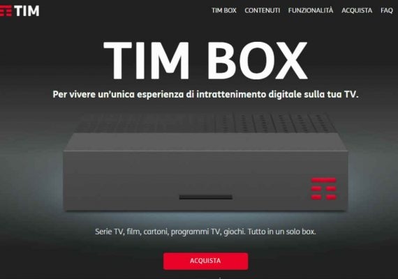 tim box pay tv