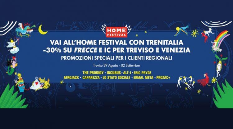 trenitalia home festival