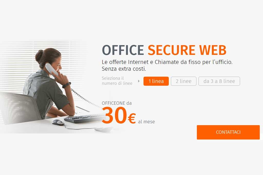 OfficeOne: offerte internet e chiamate per il business da 30 € al mese