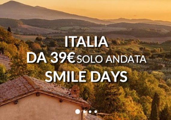 alitalia smile days