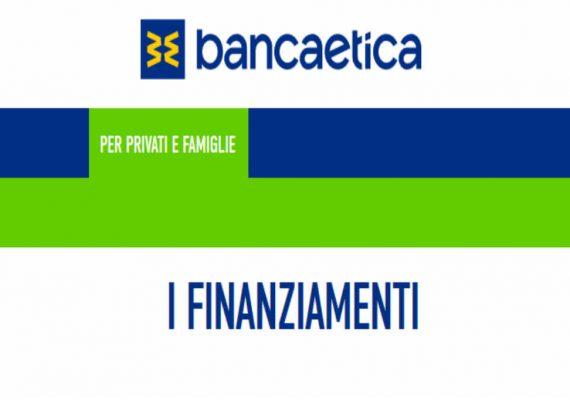 banca etica finanziamento