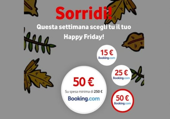 vodafone happy friday booking