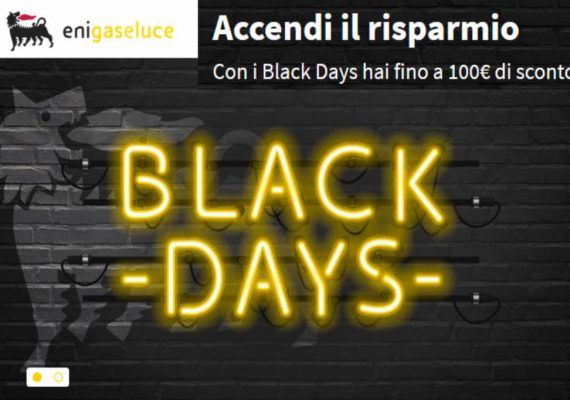 black days eni