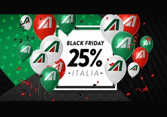 alitalia black friday