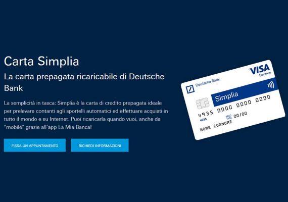 Deutsche-Bank-ricaricabile