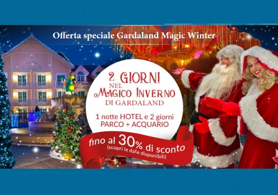offerta gardaland magic winter