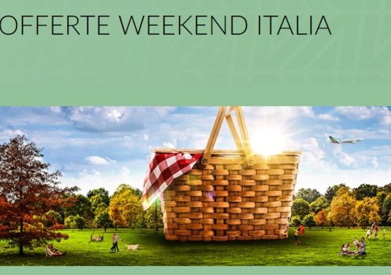 alitalia weekend offerta
