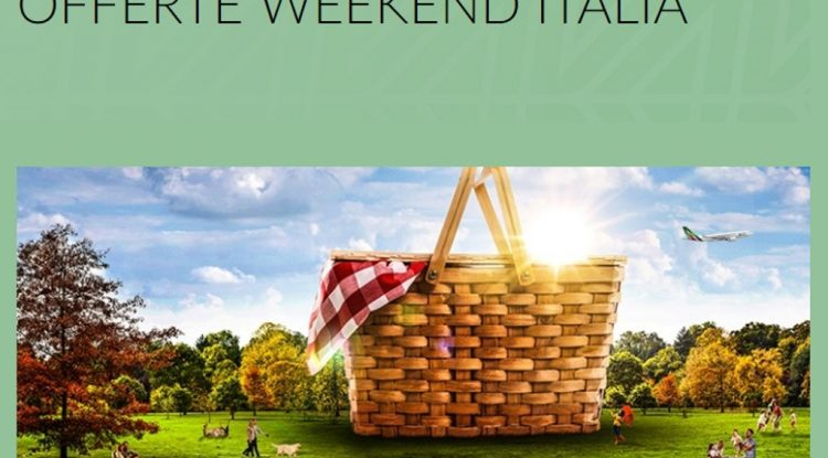 alitalia weekend offerta