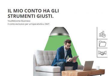 YouWelcome Business: il conto corrente esclusivo per un'operatività a 360°