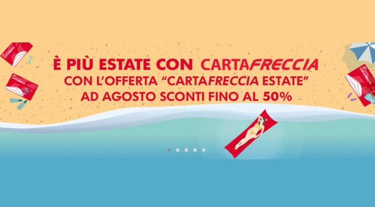 cartafreccia offerta estate