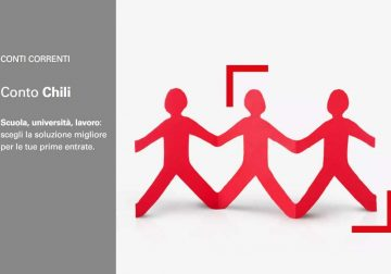 Conto Chili: il conto corrente in 3 varianti pensato per i giovani dai 14 ai 26 anni