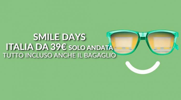 alitalia smile days settembre