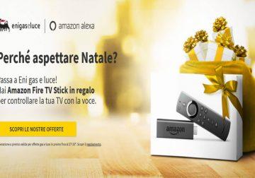 Eni ti regala Amazon Fire TV Stick