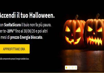 Halloween: sconto del 20% da Eni e prezzo bloccato