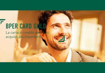 BPER Card Gold: la carta di credito per i tuoi acquisti più importanti