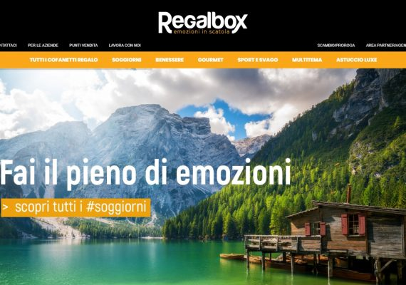 regalbox cofanetto