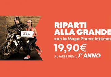 Linkem Senza Limiti Mega Promo a soli 19,90 € al mese per il 1° anno