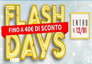 Flash Days Eni: fino a 40€ di sconto in bolletta