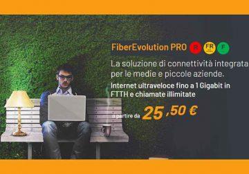 FiberEvolution PRO: la soluzione internet per le medie e piccole aziende