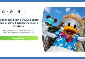 Disneyland Primavera/Estate: risparmia fino al 25%