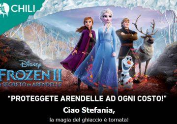 Frozen 2: noleggialo su Chili