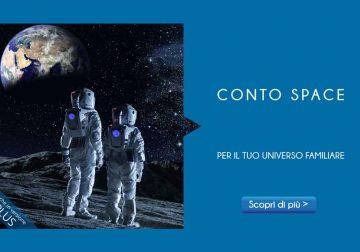 Conto Space: il conto corrente completo per il tuo universo familiare