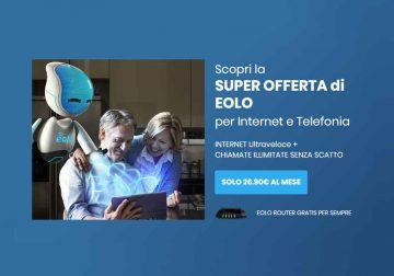 Eolo Easy: internet ultraveloce e chiamate illimitate a soli 26,90 € al mese